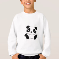 Cute Panda Sweatshirt