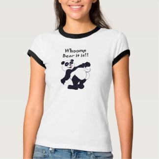 """Cute Panda T-shirt says """"Whoomp Bear it is!"""""""