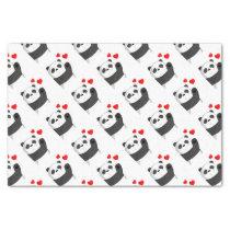 Cute panda tissue paper