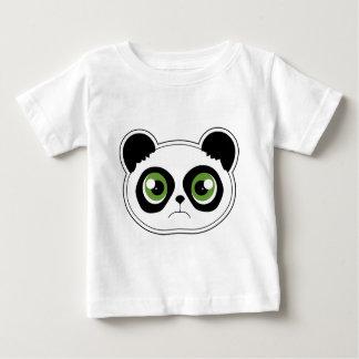 Cute Panda with Attitude - Sad Panda Baby T-Shirt