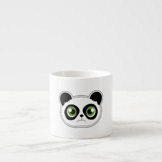Cute Panda with Attitude - Sad Panda Espresso Cup