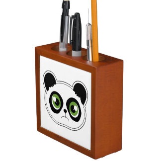 Cute Panda with Attitude - Sad Panda Pencil/Pen Holder