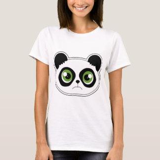 Cute Panda with Attitude - Sad Panda T-Shirt