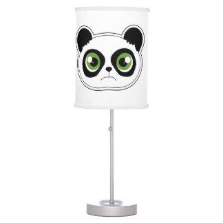 Cute Panda with Attitude - Sad Panda Table Lamp