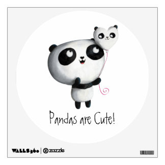 Baby Panda Wall Decals Stickers For Any Room
