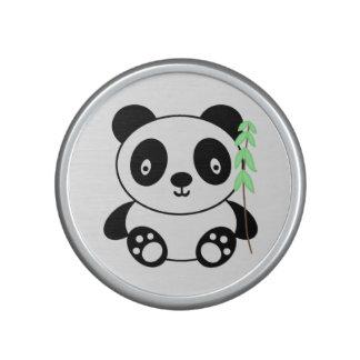 Cute Panda with Bamboo Bluetooth Speaker