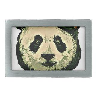 Cute Panda with Glasses Belt Buckle