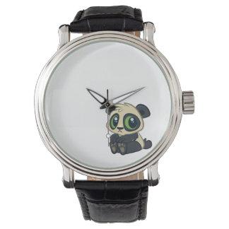 Cute Panda Wrist Watch
