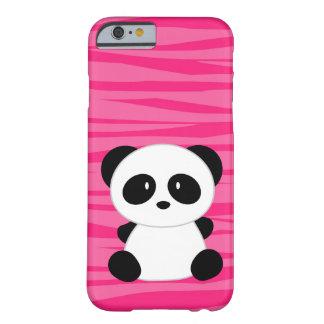 Cute Panda Zebra Barely There iPhone 6 Case