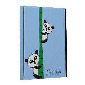 Cute Pandas iPad Case