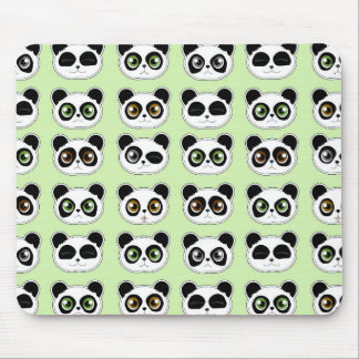 Cute Pandas with Attitude Pattern Mouse Pad