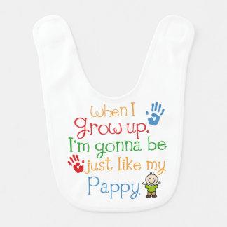 Cute Pappy Grandchild Baby Infant Bib