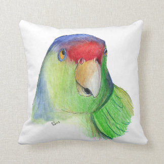 cute parakeet pillow