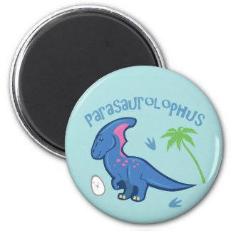 Cute Parasaurolophus Refrigerator Magnet