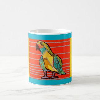 Cute Parrot Design on Mug