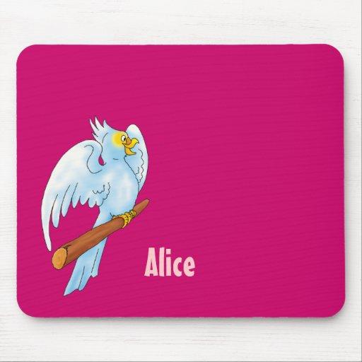 Cute parrot - Mousepad