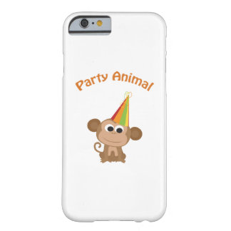 Cute Party Animal Monkey Barely There iPhone 6 Case