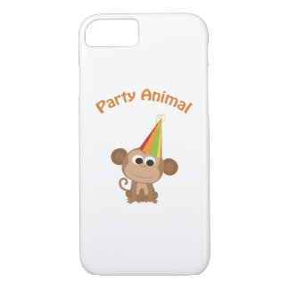 Cute Party Animal Monkey iPhone 8/7 Case