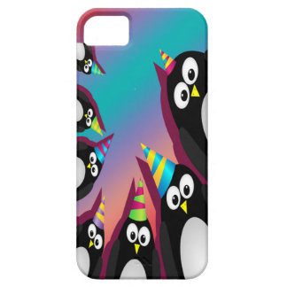 cute party penguins iphone 5 barely there case iPhone 5 cover