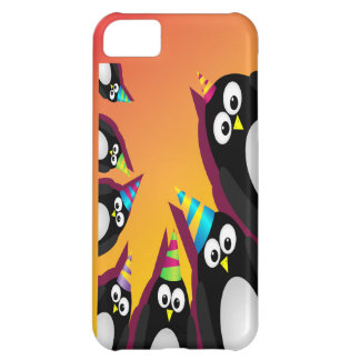 cute party penguins iphone 5 barely there case 2 iPhone 5C covers