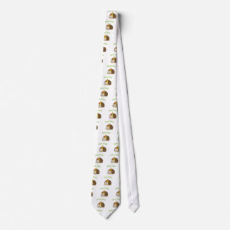 Cute Party Time Hedgehog Tie