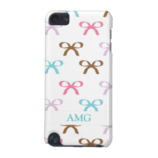 Cute Pastel Bows with Chocolate Accents iPod Touch 5G Covers