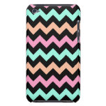 Cute Pastel Chevron Barely There iPod Cases