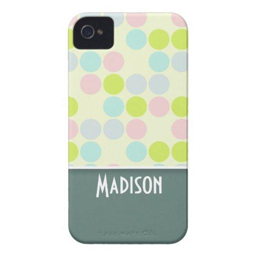 Cute Pastel Color iPhone 4 Case-Mate Case