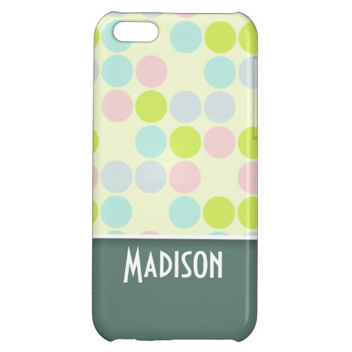 Cute Pastel Color Cover For iPhone 5C