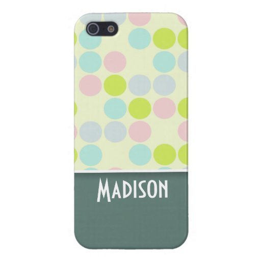 Cute Pastel Color Covers For iPhone 5