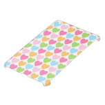 Cute pastel colored candy hearts girly cover for the iPad mini