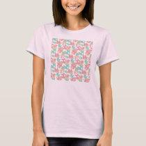 Cute Pastel Elephants T-Shirt