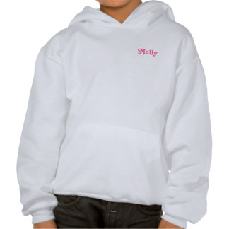 Cute Pastel Frosted Cupcakes Hooded Pullover
