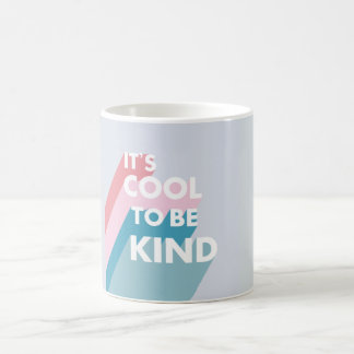 Cute pastel It's cool to be kind Coffee Mug