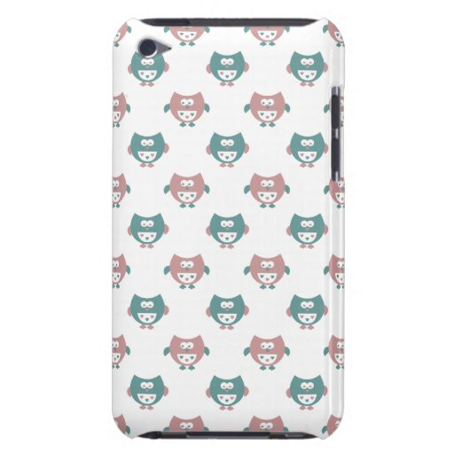 Cute Pastel Owls Barely There iPod Cover