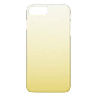 Cute Pastel Sunny Yellow Ombre iPhone 7 Plus Case