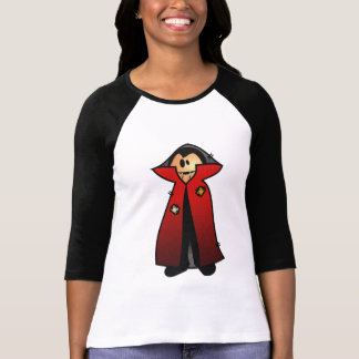 CUTE PATCHY DRACULA VAMPIRE T-Shirt