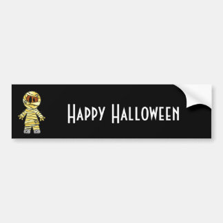 CUTE PATCHY MUMMY BUMPER STICKERS