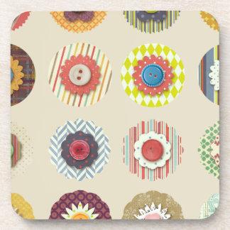 Cute Pattern Beverage Coaster