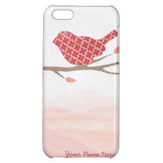 Cute Pattern Bird iPhone Case Case For iPhone 5C