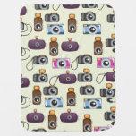 Cute Pattern of Cameras Receiving Blanket