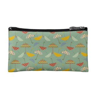 Cute Pattern Umbrellas Spring Rain Design Cosmetic Bag