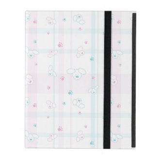 Cute pattern with dogs iPad folio case