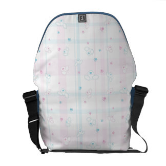 Cute pattern with dogs messenger bag