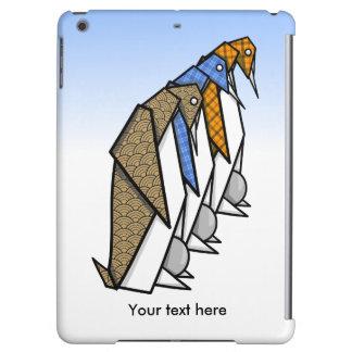 Cute Patterned Paper Penguins iPad Air Case