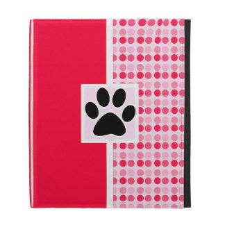 Cute Paw Print iPad Cases