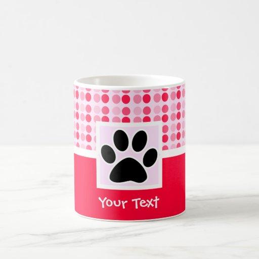 Cute Paw Print Coffee Mugs