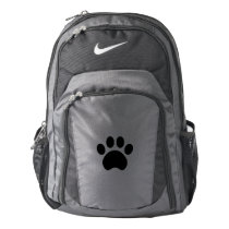 Cute Paw Print Nike Backpack