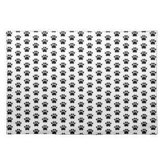 Cute Paw Print Pattern Placemat