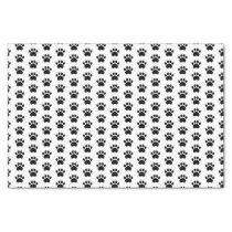 Cute Paw Print Pattern Tissue Paper